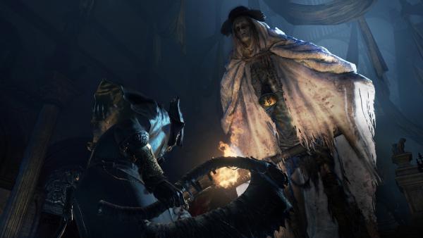 Sony представила тизерное изображение нового соперника в Bloodborne