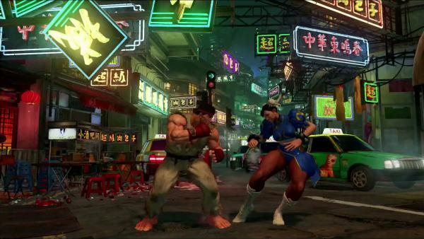 Геймплей Street Fighter 5 на PS4