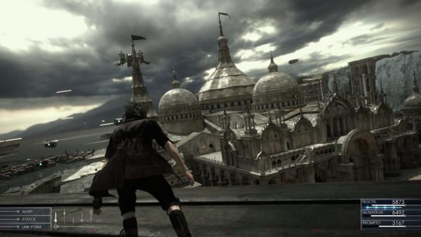 Мир в Final Fantasy 15 действительно открытый