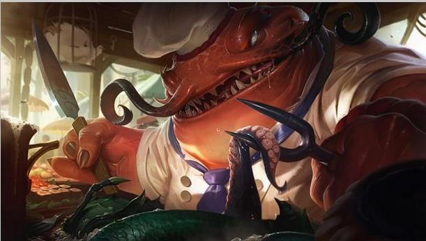 Новый герой League of Legends ест людей... и всех остальных