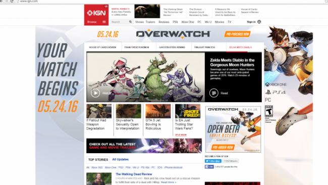 Благодаря утечке стала известна дата релиза Overwatch