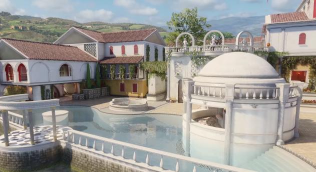Авторы Call of Duty: Black Ops 3 показали мультиплеерную карту-виллу