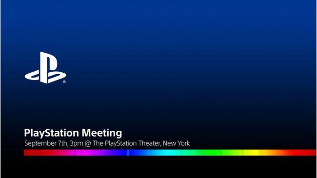 Sony проведет PlayStation Meeting в следующем месяце