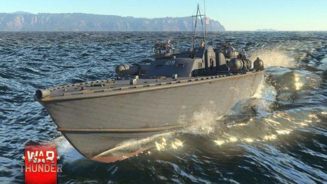 Тестирование морских битв в War Thunder начнется в этом году