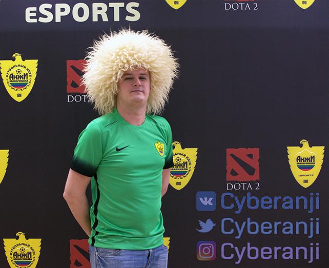«Анжи» создает команду по Dota 2 с экс-чемпионом мира Александром «ХВОСТ» Дашкевичем