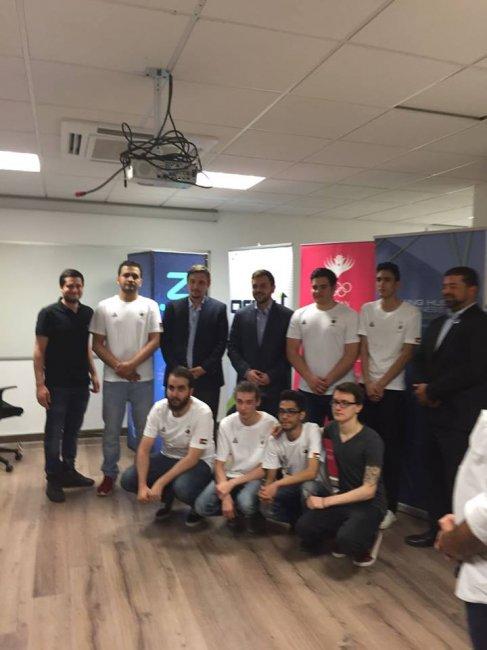 Miracle- вместе с принцем Иордании открыл учебный центр для киберспортсменов