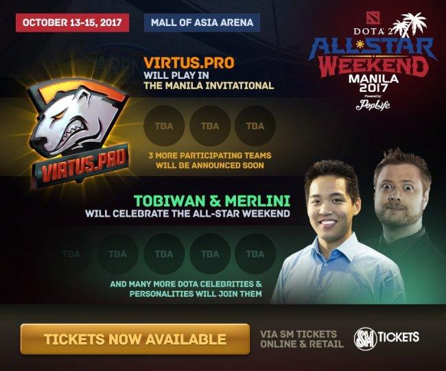 Virtus.pro сыграет на турнире в Маниле, где будут снимать голливудский фильм