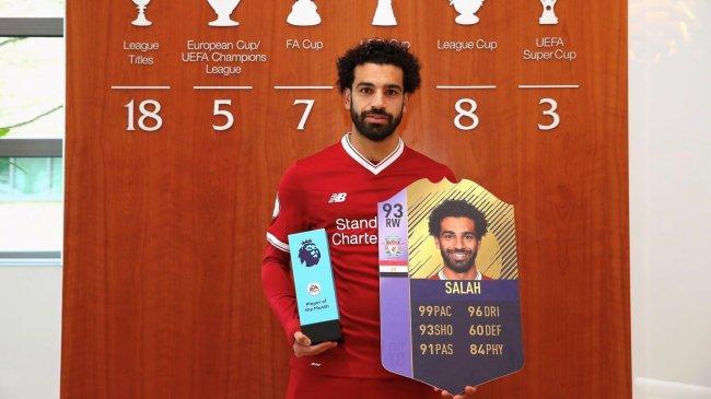 Мохаммед Салах стал самым быстрым игроком в FIFA 18