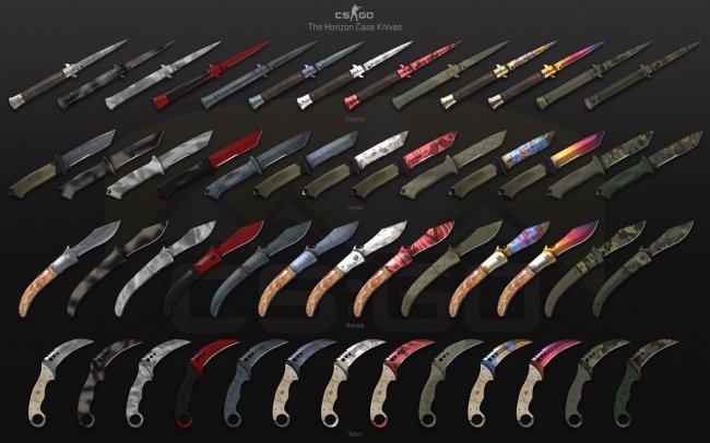 Valve вывела интерфейс Panorama из бета-теста и выпустила кейс с 4 новыми ножами