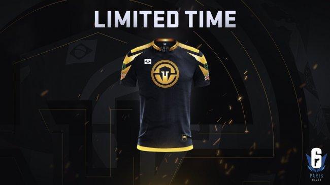 Immortals выпустили ограниченную серию золотых футболок