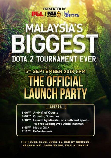 Первый мейджор сезона DPC, скорее всего, пройдет в Малайзии