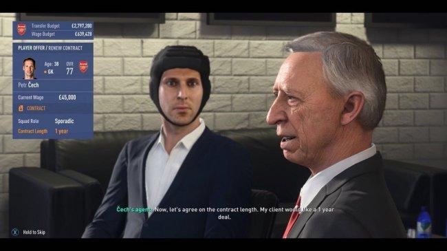 В FIFA 19 исправили баг со шлемом Петра Чеха