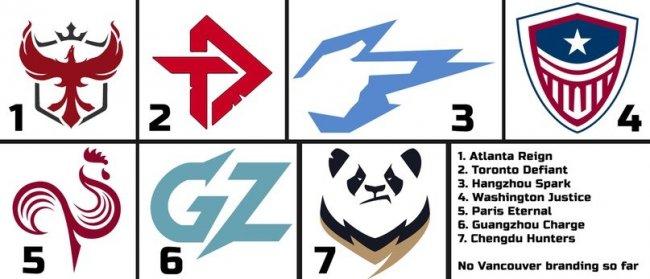 На реддите опубликовали логотипы новых команд Лиги Overwatch - Игры