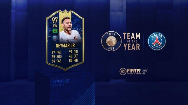 Фанаты выбрали Неймара 12-м игроком команды года FIFA 19. Он обошел Салаха и Гризманна - Игры