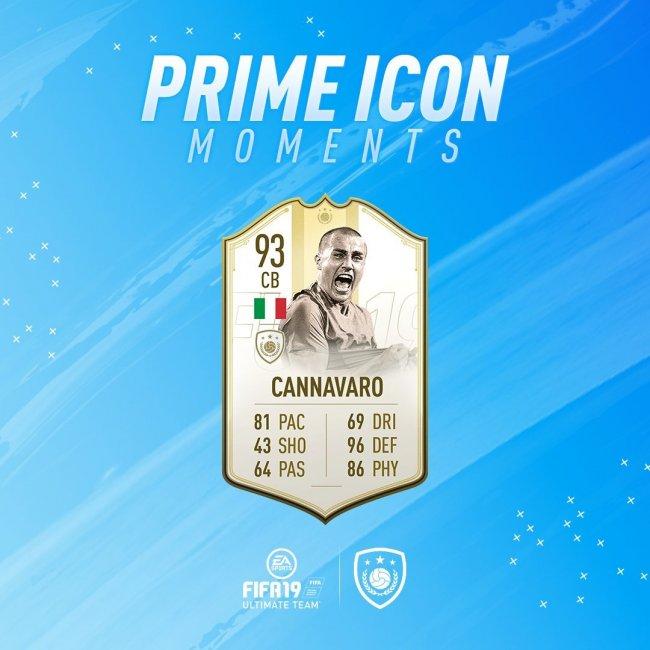 EA Sports показала особые версии карточек Каннаваро и Дель Пьеро в FIFA 19 - Игры