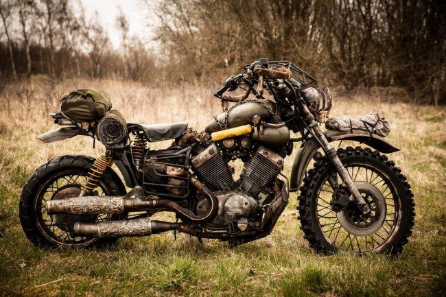 Мотоцикл героя Days Gone воссоздали в реальной жизни - Игры