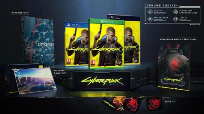 В сети появилось изображение коллекционного издания Cyberpunk 2077 - Игры