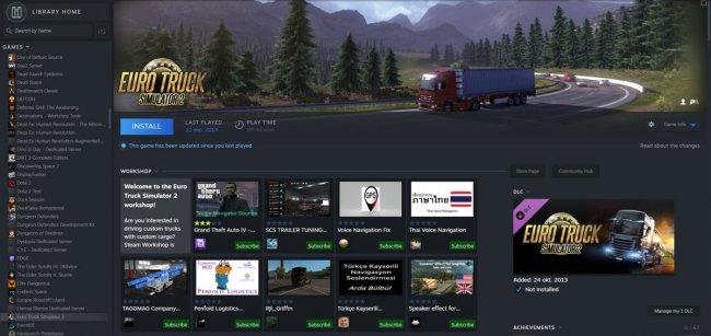 В сеть попал новый интерфейс Steam