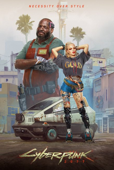 CD Projekt Red показала постеры Cyberpunk 2077 - Игры