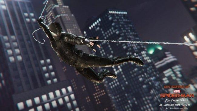В Spider-Man на PS4 появятся костюмы из фильма «Человек-Паук: Вдали от дома» - Игры