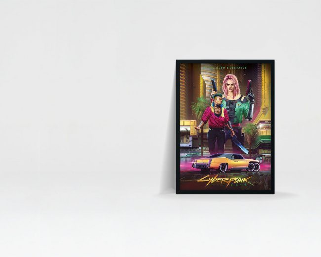 CD Projekt Red продает постеры со стилями одежды Night City из Cyberpunk 2077 - Игры