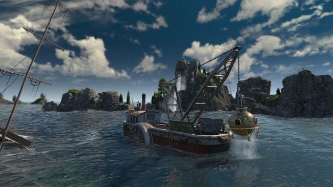 Дополнение для Anno 1800 выйдет 30 июля. Добавят новую сюжетную линию, затонувшие сокровища и водолазов - Игры
