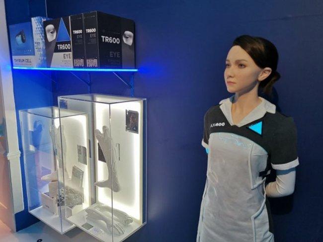 В Париже проходит выставка восковых фигур, посвященная Detroit: Become Human - Игры