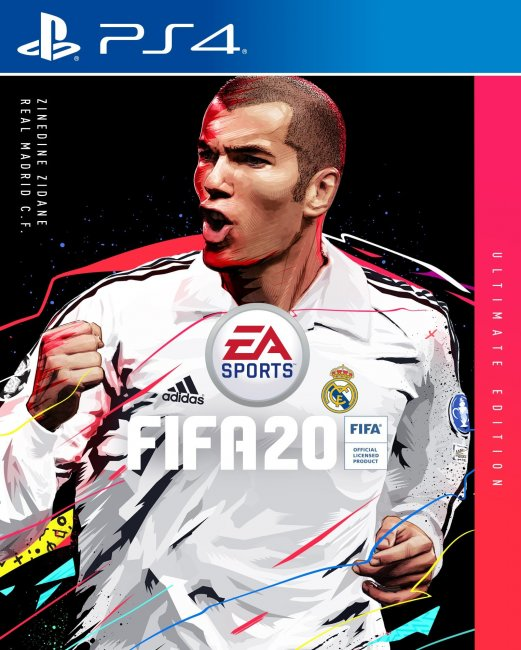 На обложке FIFA 20 Ultimate Edition будет изображен Зидан - Игры