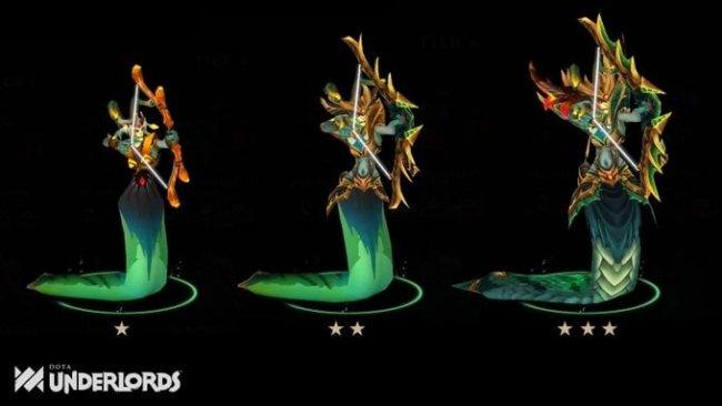 Valve показала новые переработанные модели героев в Dota Underlords