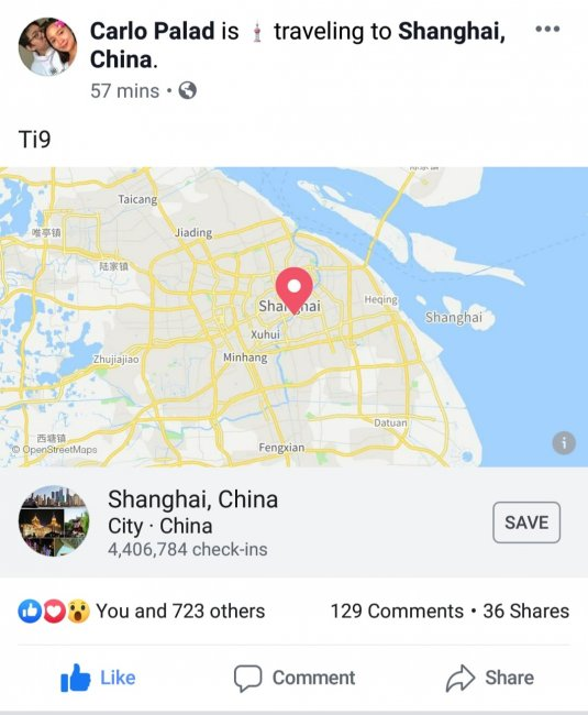 Kuku вылетел в Шанхай