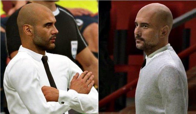 В FIFA 20 обновили лицо Пепа Гвардиолы - Игры