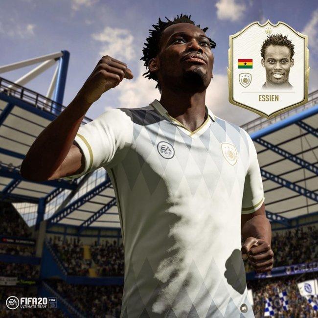 В FIFA 20 будет карточка кумира Майкла Эссьена - Игры