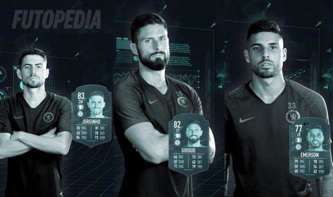 Рейтинги Жоржиньо, Жиру и Эмерсона в FIFA 20 - Игры
