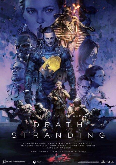 Кодзима показал новый постер Death Stranding - Игры