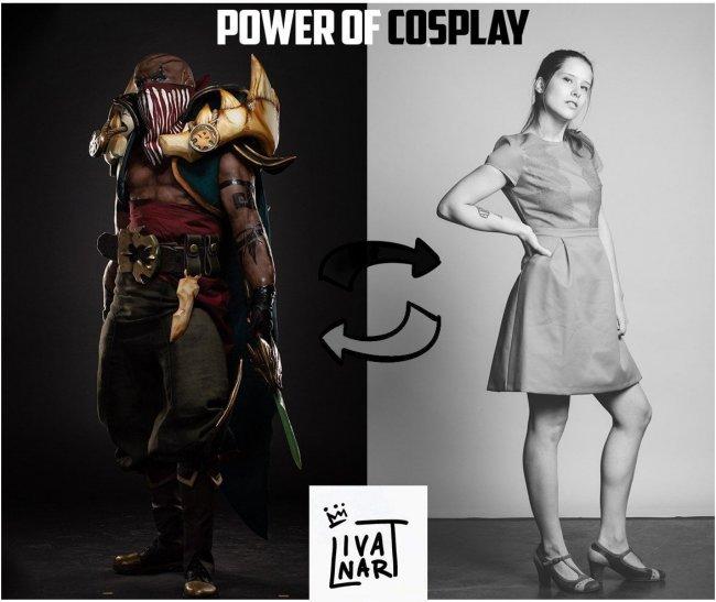 Косплеершу дисквалифицировали с конкурса за блэкфейс. Она создала костюм чернокожего героя League of Legends - Игры