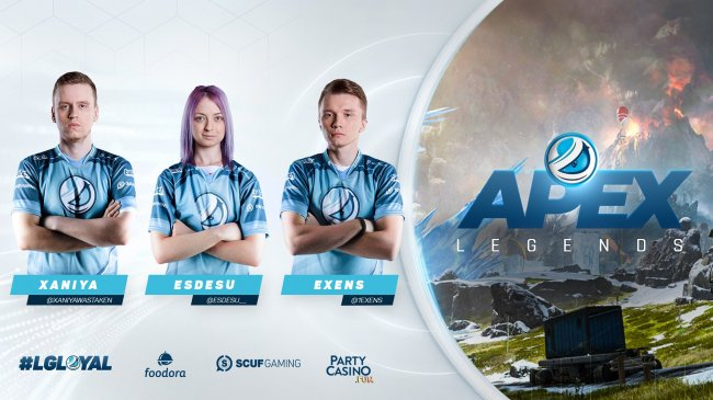 Luminosity подписала русский состав по Apex Legends - Игры