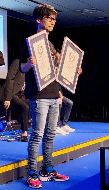Хидэо Кодзима попал в Книгу рекордов Гиннеса - Игры