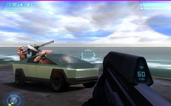 «Tesla Cybertruck вдохновлен такими играми, как Halo», сообщает Илон Маск - Игры