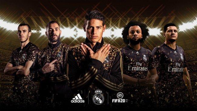 В FIFA 20 добавили четвертую форму «Реала» - Игры