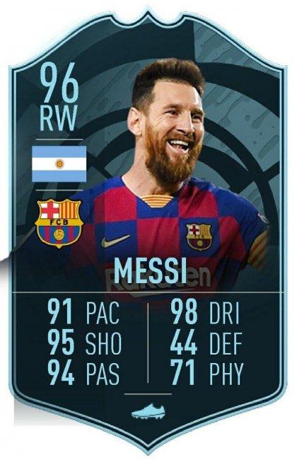 В FIFA 20 добавят карточку Месси с рейтингом 96. Ее выдадут за выполнение задач - Игры