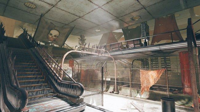 Скриншоты и описание новой локации в Fallout 76 – подземной парковки - Игры