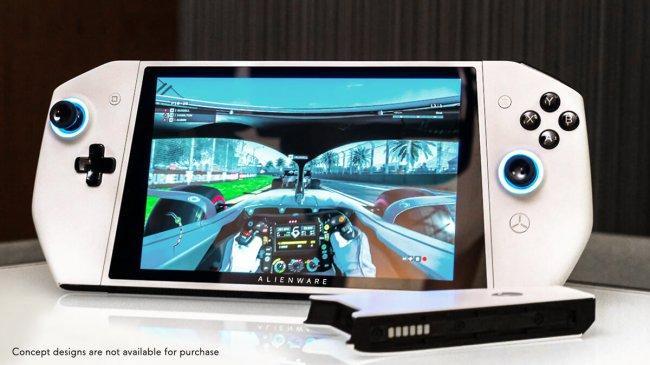 Alienware показала концепт UFO – PC-аналога Nintendo Switch - Игры