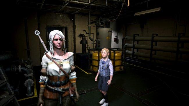 В Resident Evil 2 Remake добавили Цири - Игры