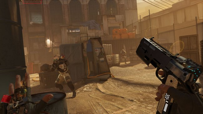 Valve забрыла убрать модель ERROR с одного из промо-скриншотов Half-Life: Alyx
