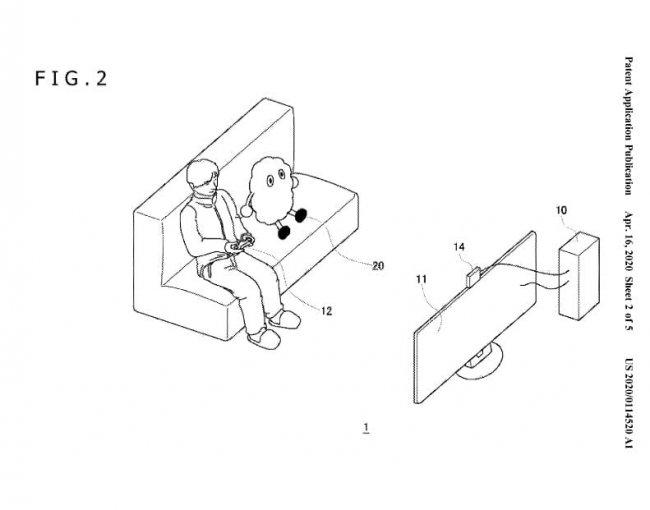 Sony запатентовала робота-напарника для игр. Он может радоваться и обижаться - Игры