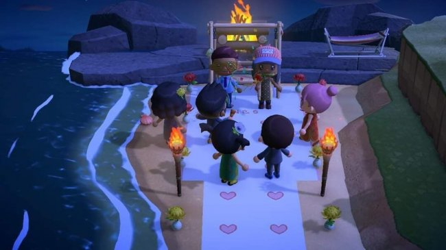 Паре поженилась в Animal Crossing – настоящую свадьбу пришлось отменить из-за пандемии - Игры
