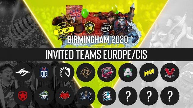 VP.Prodigy, NAVI, Secret и OG сыграют на ESL One Birmingham, Virtus.pro и Nigma – нет