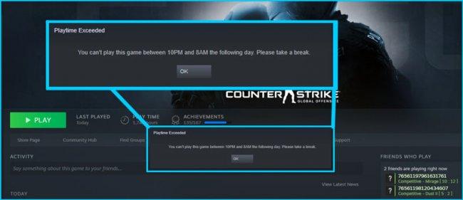 В альфа-версии Steam для Китая есть ограничения на число часов в игре для детей (Win.gg) - Игры