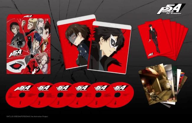 Аниме по Persona 5 выйдет на Blu‑ray. Шесть дисков стоят 21 тысячу рублей - Игры