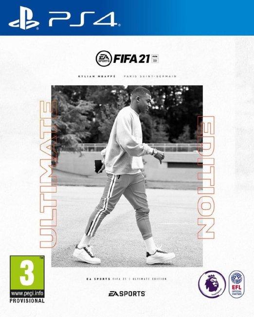 Обложка FIFA 21: Килиан Мбаппе на обложке ФИФА 21 - Игры